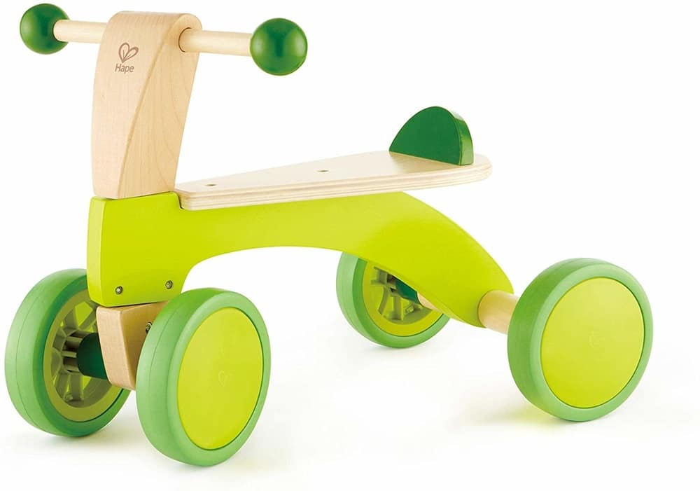 hape scoot around wooden bike