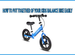 Easy assembly instruction of toddler balance bike step by step